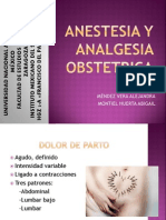 Anestesia y Analgesia Obstetrica (1)