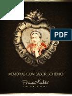 Recetario Bohemia Frida