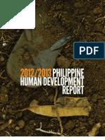 2013 Philippine Human Development Report Geography and Human Development