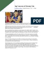 Jeremy Lin Story