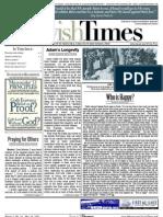 Jewish Times - Volume I,No. 16...May 24, 2002