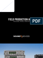 Sound Devices Audio Full Line