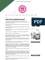 KeepCalmDIY_ Quanto Cobrar Por Publieditorial e Banner_!