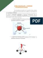 Geometría molecular y Fuerzas intermoleculares