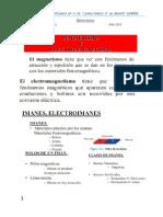Trabajo Practico de Magnetismo y Electromagnetismo Para Los Chicos