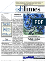 Jewish Times - Volume I,No. 18...June 7, 2002