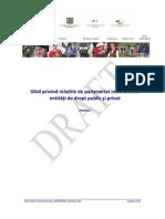 Ghidul Relatiilor de Parteneriat in POSDRU