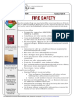 Toolbox Talk Fire Safety
