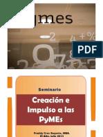 Seminario Impulsar a Las PYMES 2013