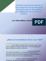 Presentación Ley 1620 Marzo 2013 VL
