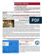 Boletin Informativo Agosto 4 2013