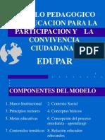 Presentación Pedagogía 2005 EDUPAR