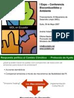 Biocombustibles - Financiamiento MDL