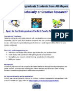 Final UG Student Research Flyer 2013