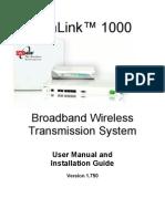 WinLink 1000 Release 1-750 User Manual
