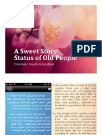 A SwEEt StOry - Status of the Old People