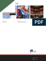 Masters in Finance Brochure