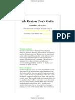 The Kratom User's Guide