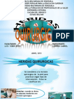 HERIDAS QUIRURGICAS