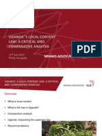 Local Content Law
