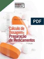 Cálculo de dosagem e preparação de medicamentos