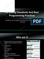 C Sharp Coding Standards and Best Programming Practices