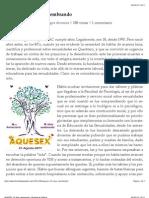 AQUESEX, 18 años sembrando | Libertad de Palabra