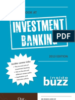 Investment Banking 2013