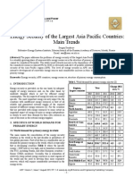 Energy Security of the Largest Asia Pacific Countries