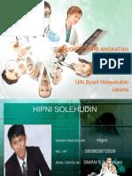 Biodata PSPD 2012 UIN Jakarta