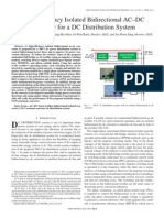 [SiC-En-2013-23] High-Efficiency Isolated Bidirectional AC–DC Converter for a DC Distribution System