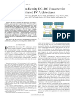 [SiC-En-2013-24] A High-Power-Density DC–DC Converter for Distributed PV Architectures