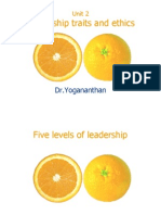 Unit 2 - Traits of Leadership