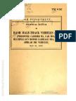 Tm 9-707 BASIC HALF TRACK VEHICLES (IHC)