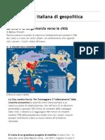 Limes - rivista italiana di geopolitica » La Cina e la lunga marcia verso le città - Versione stampabile