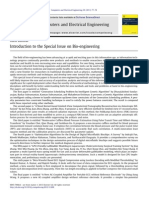 Introduction to the Special Issue on Bio-engineering