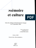Perec Proust Travail Memoire