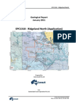 EPC1318 Geological Report