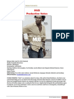 Mud Production Notes