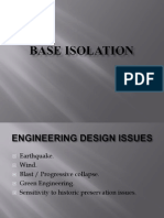 Base Isolation-April 6th