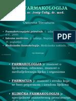 Farmakologija - Predavanja (HR)
