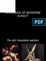 Klassiek of Modern