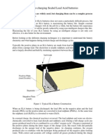 Plugin-Charging Sealed Lead Acid Batteries