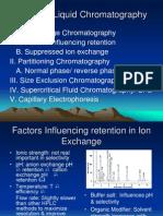 Types of Liquid Chromatography