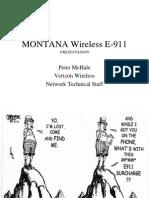 Montana Presentation Handout
