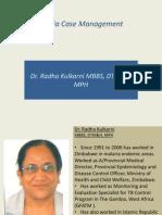Malaria Case Management