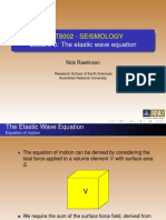 SEISMOLOGY, Lecture 3