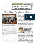 PGLL PHILIPPINE NEWSLETTER Vol.13 No.1-6