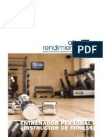 Curso de Entrenador Personal I (Instructor de Fitness)