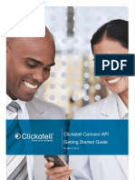 Clickatell Connect API Getting Started Guide